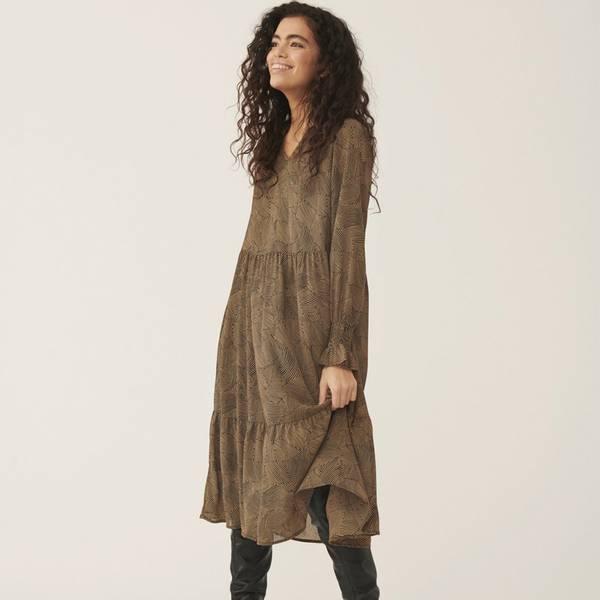 Bilde av Moss Copenhagen - Kjole Ophelie Rikkelie LS Dress