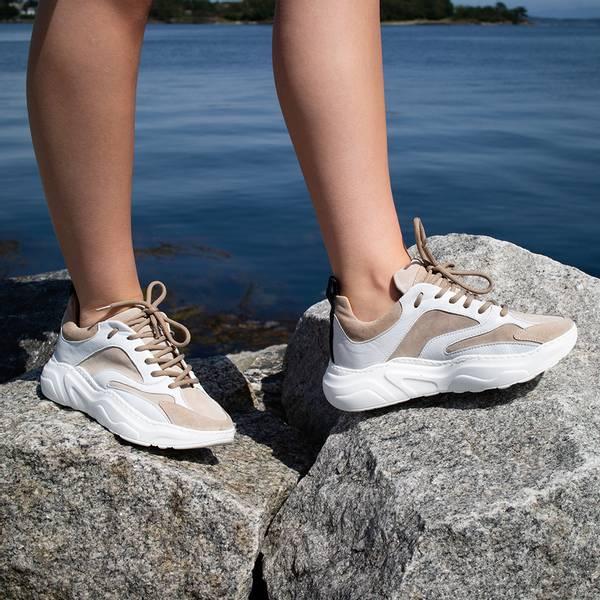 Bilde av Pavement - Sneakers Meadow Taupe Suede
