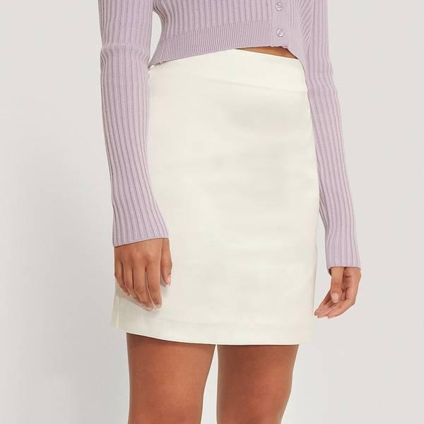 Bilde av NA-KD x Emma Ellingsen Satin Mini Skirt